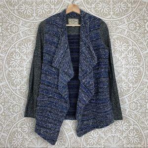 Lucky Brand Blue Chunky Knit Cardigan